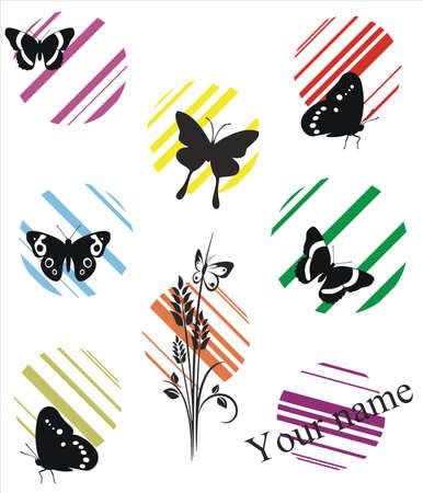 wall decal: Butterflies