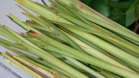 Close up of lemongrass on the table Reklamní fotografie