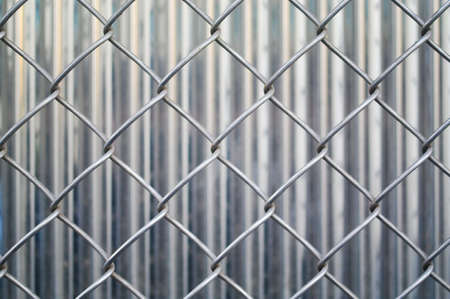 Fences in metal Stock Photo - 16553608