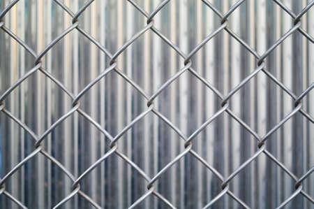 galvanized: Fences in metal