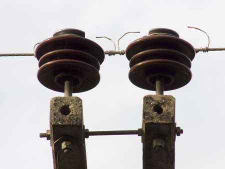 insulator: Electrical insulator