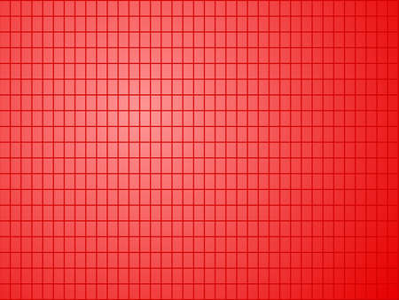 red background with quadrilateral pattern Vector