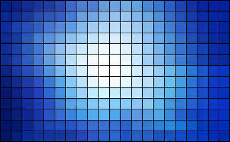 abstract square pixel mosaic Stock Vector - 27365511