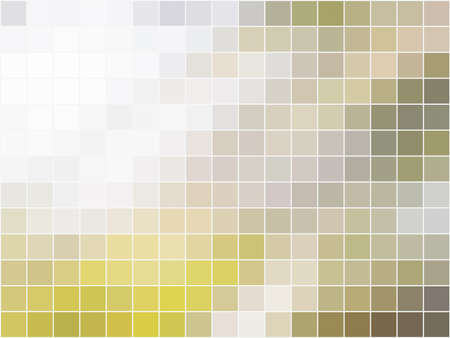 abstract square pixel mosaic , nature tone Stock Vector - 27365515