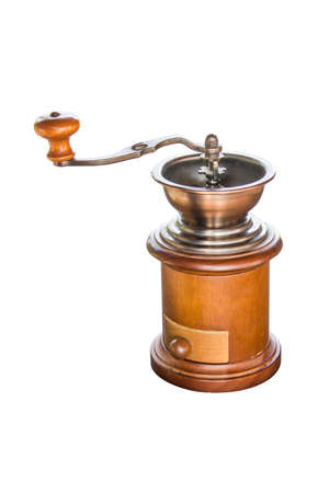 masticate: coffee grinder isolated