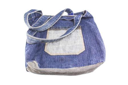 women jeans: blue jeans bag