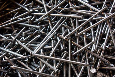 nails: steel nails