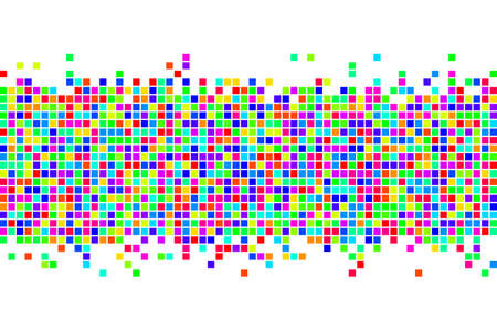Abstract squares background. Vector background. Illustration
