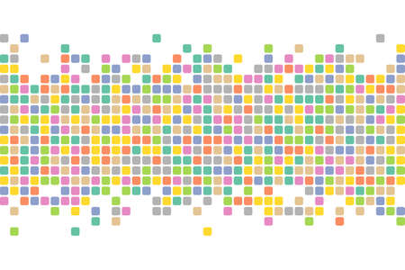 Abstract squares background. Mosaic background. Vector background.