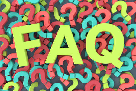 Frequently asked questions (FAQ). 3D rendering.