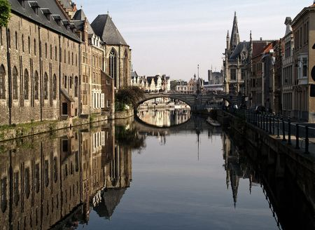gent: Canal in Gent