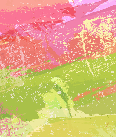 Colorful grange backdrop design Illusztráció