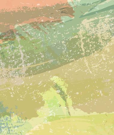 Green grange background abstract splash creative design Illusztráció