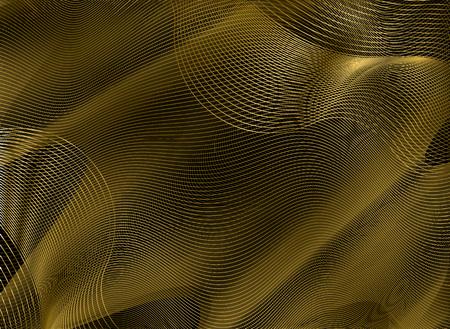 gold guilloche element Illusztráció