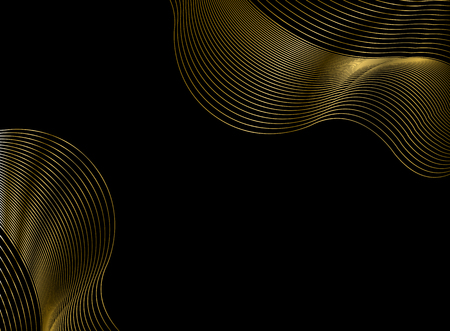 Gold and black pattern