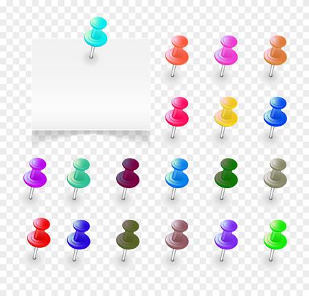 Set multicolored buttons. Illusztráció