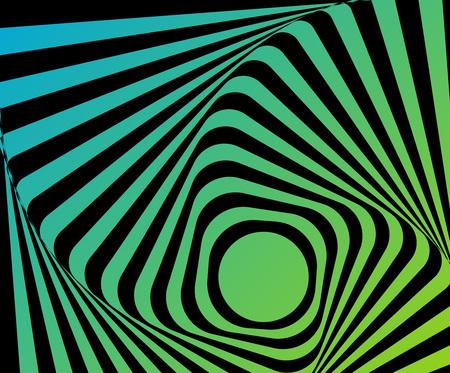 Optical distorted illusion Stock fotó