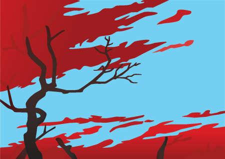 ciel rouge: Ciel Rouge Illustration