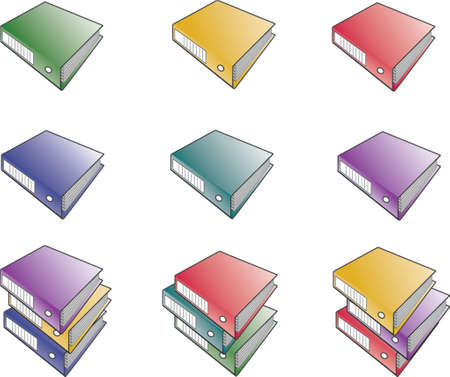 Folders  Illustration