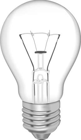 Bulb for daily use isolated on white.