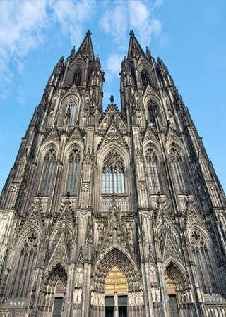 dom: Face de la cathédrale de Cologne, Allemagne