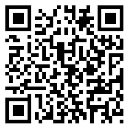 Close up of QR code example
