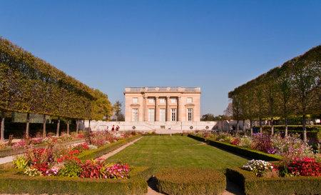 petit: Petit Trianon in Versailles, Paris France Editorial