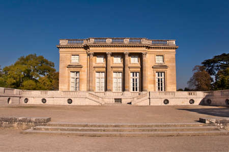 petit: Petit Trianon in Versailles, Paris France Editorial