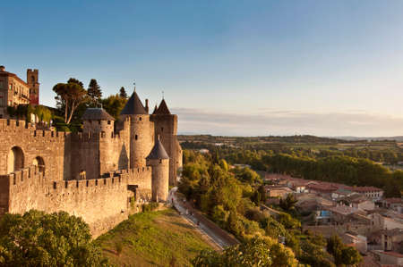 fortify: Medieval fortified city of Carcassonne, France