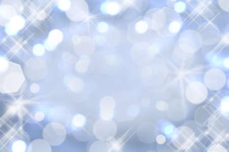 Shiny background of pastel blue lights