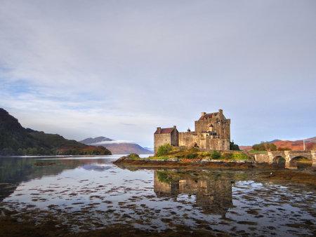 loch: Urquhart Castle beside Loch Ness in Scotland, UK Editorial