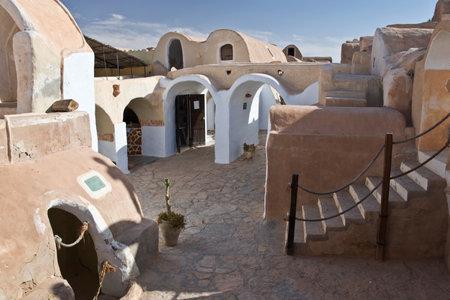 star wars: Ksar Hadada, South Tunisia - shooting location for the movie Star Wars planet Tatooine