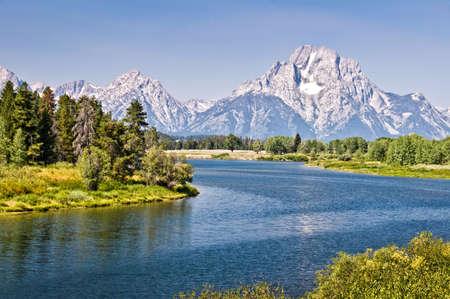 wyoming: Grand Teton national park, Wyoming, USA Stock Photo