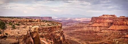 canyonlands national park: Panorama of Canyonlands National park, Utah, USA