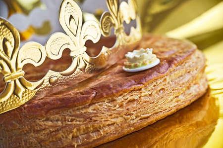 Galette des rois, french epiphany kingcake