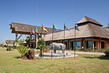 kruger national park: Nelspruit Mpumalanga airport terminal. it serves travellers to the famous Kruger National Park Editorial
