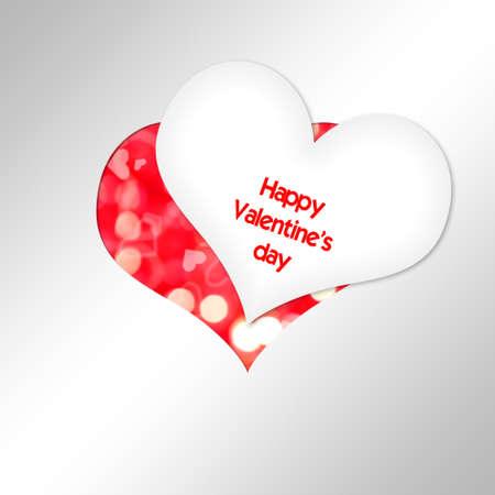 Heart Cut paper  Valentine photo