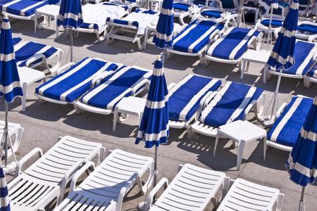 riviera: Beach, Nice, French riviera, France