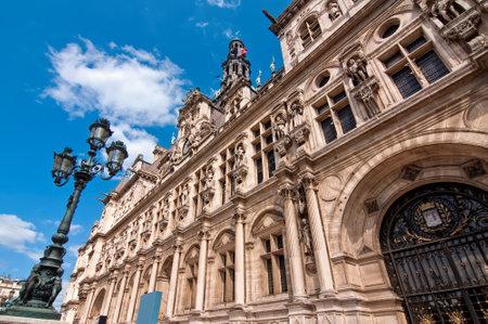 cityhall: Cityhall of Paris France