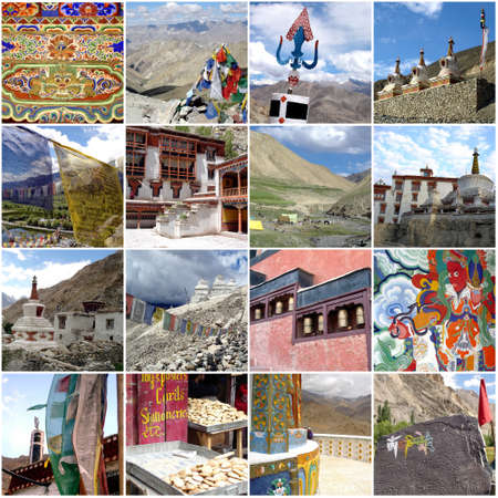 ladakh: Leh Ladakh photos collage, India
