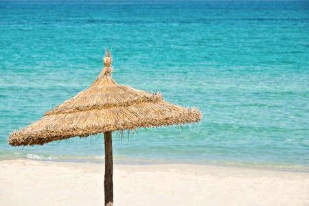 ombrellone spiaggia: Ombrellone, mare turchese