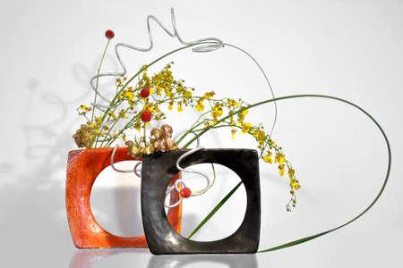 ikebana: Ikebana, japanese floral arrangement