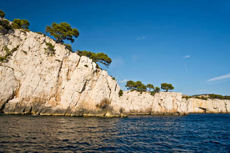 inlet bay: Calanque between Marseille and Cassis, France