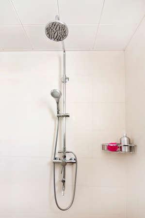 duschkabine: Innen Duschkabine Lizenzfreie Bilder