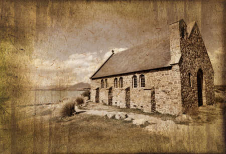 sheperd: Church of the Good Sheperd vintage process, New Zealand