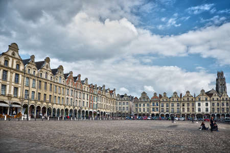 heros: Place des Heros, Arras, North of France