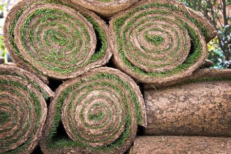 paysagiste: Rolls de l'herbe