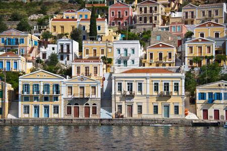 dodecanese: Symi, Dodecanese island, Greece Stock Photo
