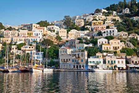 dodecanese: Symi, Dodecanese island, Greece Editorial