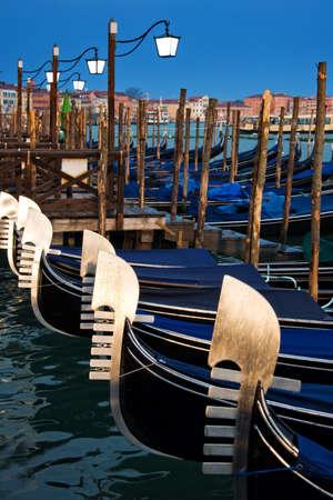 venice: Venice gondolas, Italy